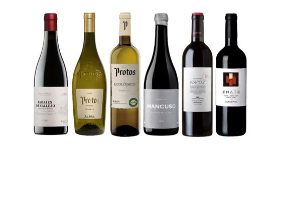Selección de vinos con 40% de descuento en Club Vinos Gourmet